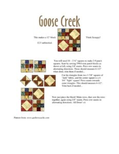 thumbnail of Goose Creek Revised