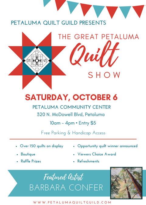 The Great Petaluma Quilt Show
