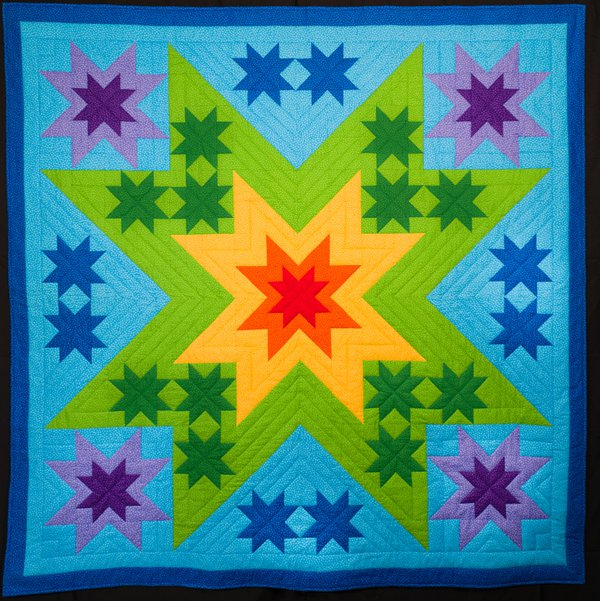Melissa and Mom Quilts
