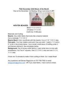 thumbnail of PQG Nov 2020 Winter Beanies BOM