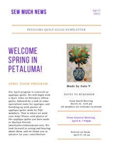 thumbnail of April Newsletter